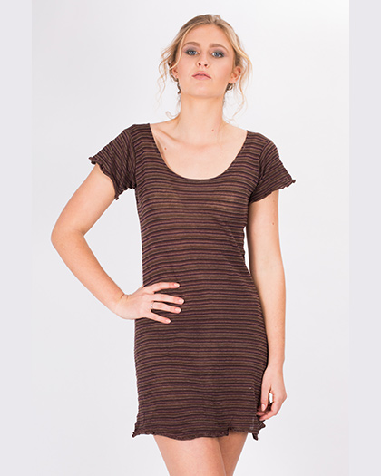 'Ishtar' Short Sleeve Dress